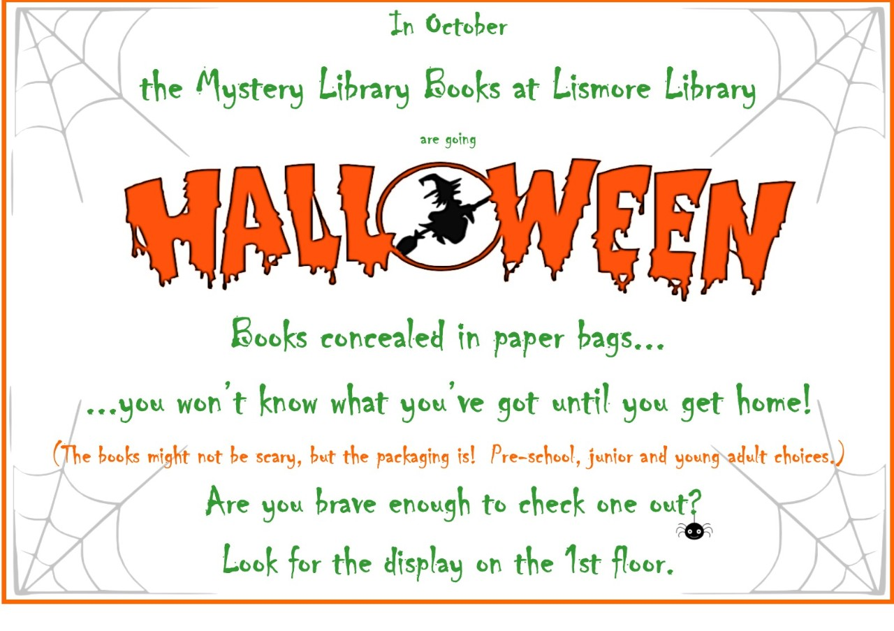 Halloween Lismore Library