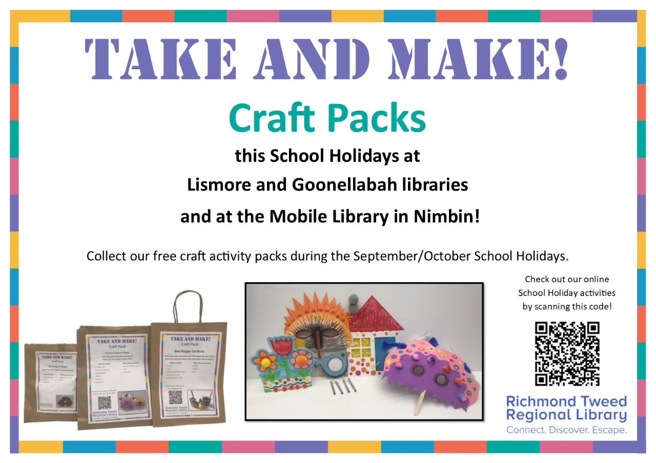 Take and Make Projects Lismore Library